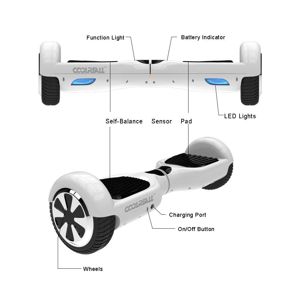 coolreall two wheel self balancing scooter review. Black Bedroom Furniture Sets. Home Design Ideas