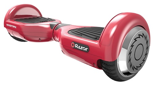 Razor Hovertrax Electric Self-Balancing Scooter red